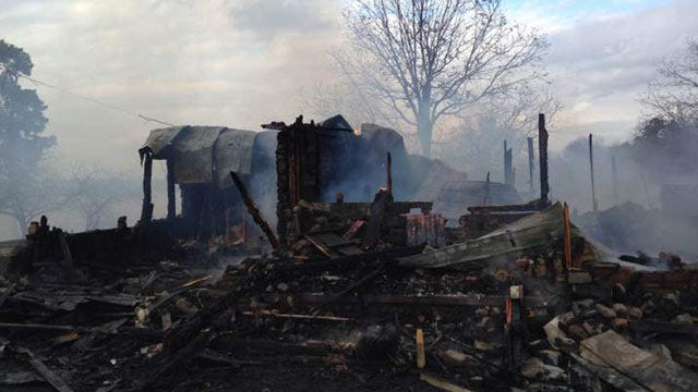 Elderly LeFlore County Couple Loses Home To Fire