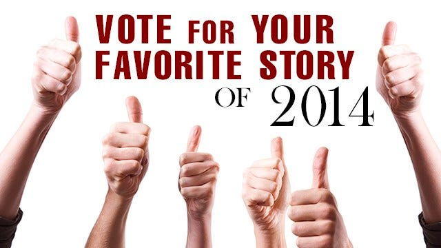 Pick Your Favorite Story Of 2014