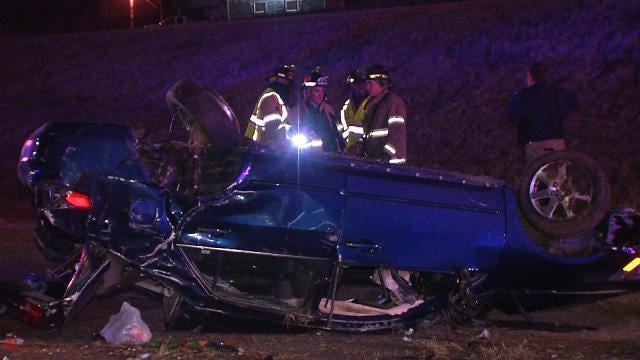 Tulsa Man Injured Driving Away From Accident Dies