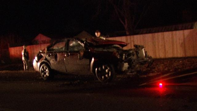 OHP: Driver Cited For DWI After Wagoner County Crash