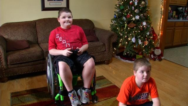 Sand Springs Family Hopes Wheelchair-Accessible Van Comes For The Holidays