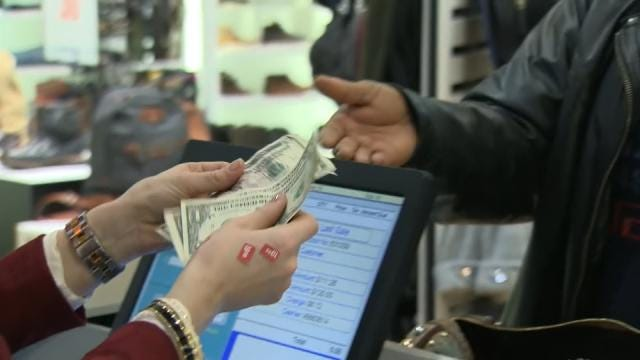 Tulsa Shoppers Spend Savings At The Pump In Stores
