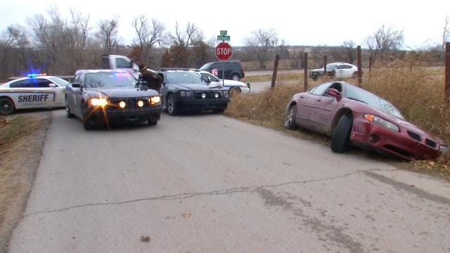 OHP Captures Stolen Vehicle Suspect After Chase