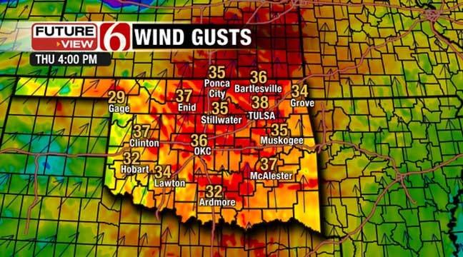 Oklahoma Under High Fire Danger Alert