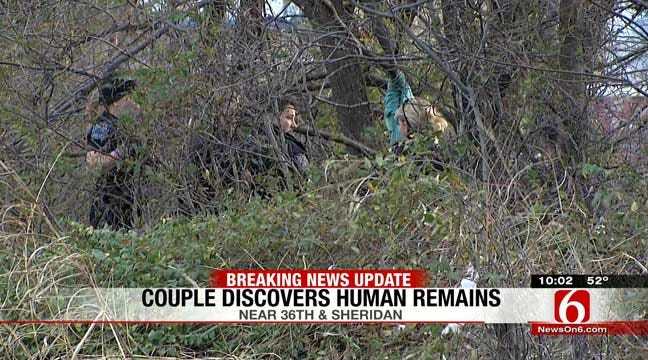 Couple On Walk Find Woman's Skeletal Remains In Tulsa