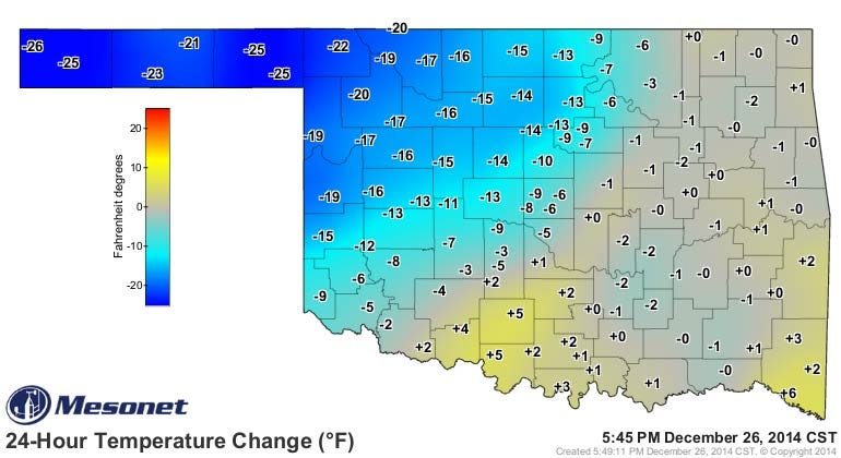 Dick Faurot's Weather Blog: Cold Weekend, Colder Next Week