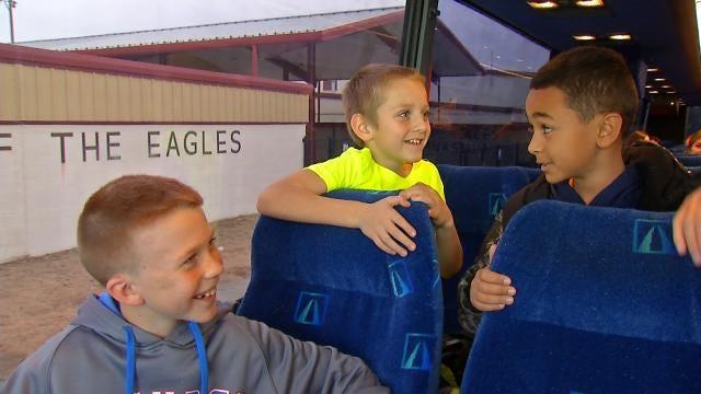 Warner High School Kids Raise Money So Elementary Kids Can 'Thunder Up'