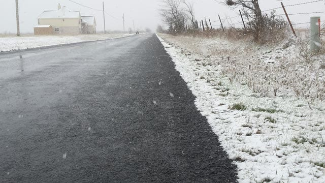 ODOT Releases Saturday Road Condition Update