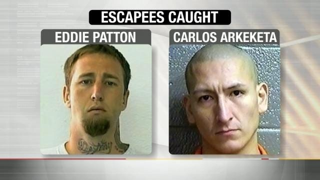 Oklahoma Escapees, Surprised By Off-Duty Deputy, Back Behind Bars