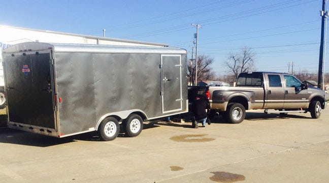 Stolen Race Car And Trailer Recovered In Tulsa