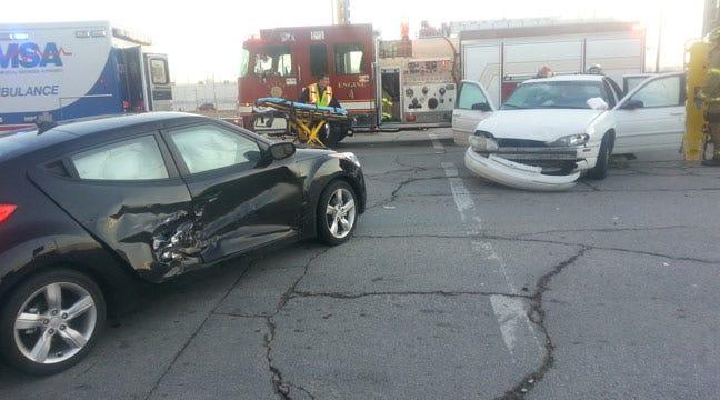 Woman Hurt In Tulsa Two-Car Collision