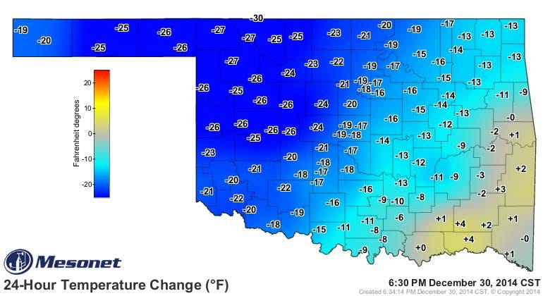 Dick Faurot's Weather Blog: Bitter Cold, Possible Wintry Weather To Start 2015