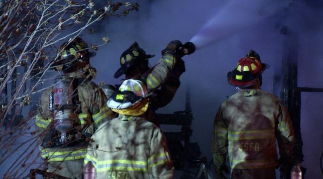 Neighbors Call In Sand Springs House Fire