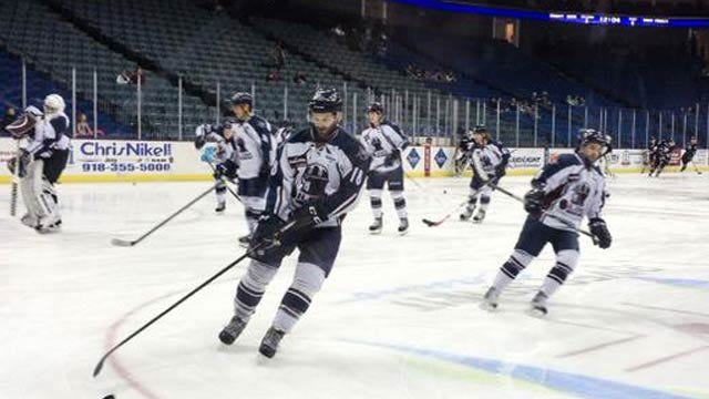 Oilers Fall 5-3 In Match Against Rapid City
