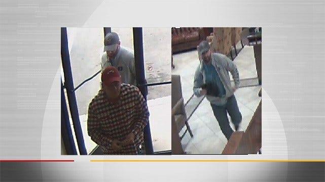 Police Need Help Finding Tulsa Bank Robbers