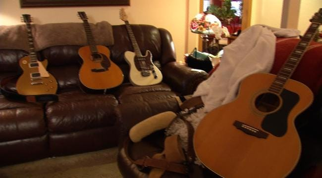 Stolen Guitars Return Home To Late Tulsa Man's Family