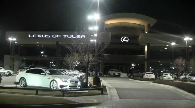 Tulsa Police Chase Down Three Teens In Luxury Car Thefts