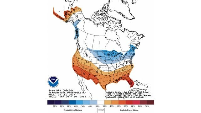 Dick Faurot's Weather Blog: Cold Start To 2015; Winter Weather Through Saturday