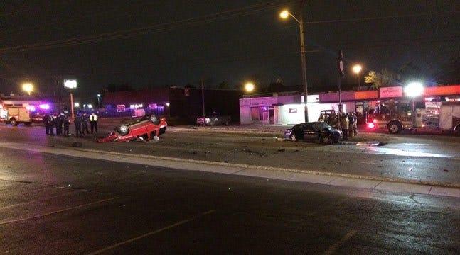 Man Dies After Rollover Wreck In Tulsa