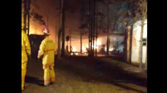 State Fire Marshal Investigates Eufaula RV Park Fire
