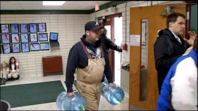 Tulsa Water Main Break Cuts Off Supply To Patrick Henry Elementary School