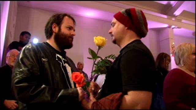 Tulsa Church Throws Engagement Party For Same-Sex Couples