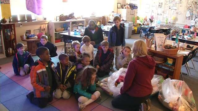 Tulsa Elementary Students Show Love To Others Before Valentine's Day