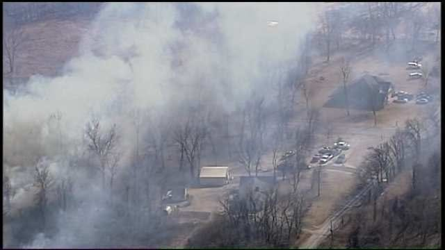 Coweta Grass Fire Destroys Some Structures As 700 Acres Burn