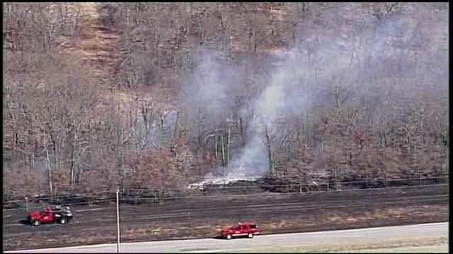 Fire Crews Respond To Creek County Grass Fire