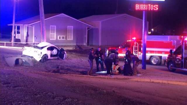High-Speed Police Chase From Catoosa To Coweta Ends With Crash