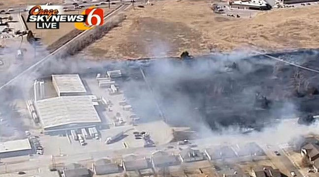 Investigators Believe Broken Arrow Grass Fire Was Started By Minor