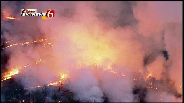 Eyes In The Sky Help Oklahoma Firefighters Stay On Top Of Wildfires