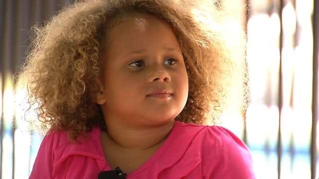 Oklahoma's Young Cheerios Star Shines During Super Bowl