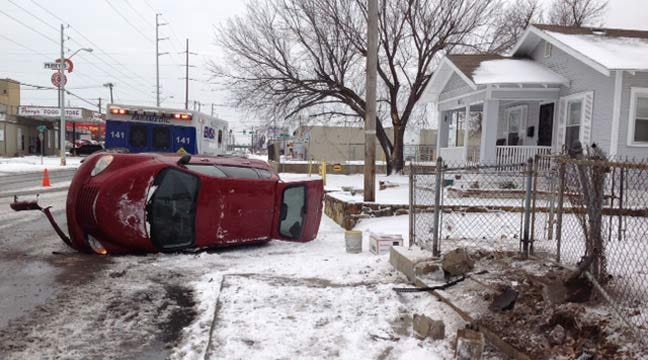 Tulsa Police Report Weather-Related Crashes Throughout Tulsa