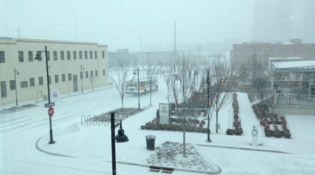 Winter Storm Making Its Way Into Green Country