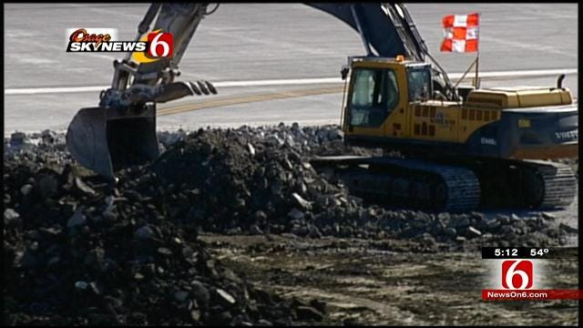 Final Phase Of Work Begins On Tulsa Airport's Main Runway