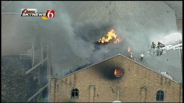 Fire Investigators Believe Arson Cause Of Tulsa Church Building Fire