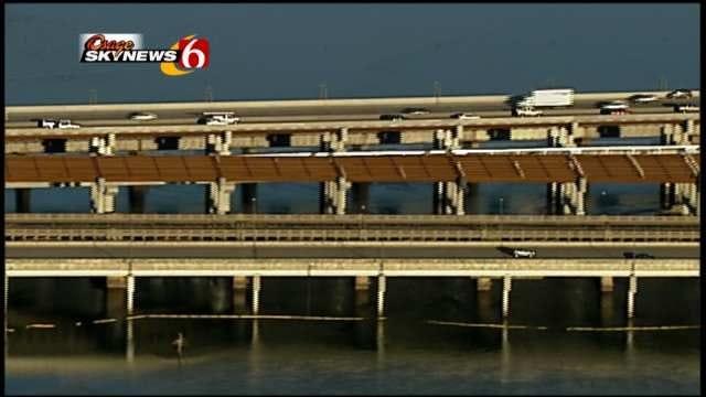 Construction Continues $41 Million Tulsa Bridge Project