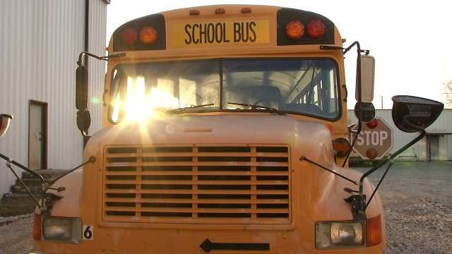 Muskogee County School Bus Stolen After Car Runs Out Of Gas
