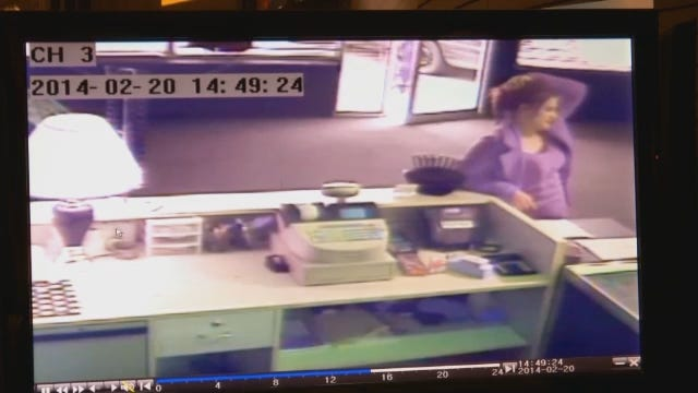 Watch: Surveillance Video Records Couple Stealing Merchandise From Tulsa Store