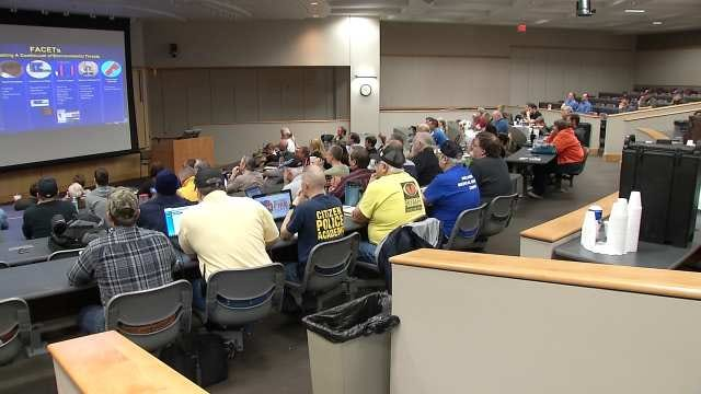 Oklahoma Storm Spotters Brush Up On Training Ahead Of Tornado Season