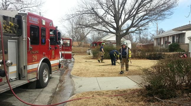 Tulsa Firefighters Say Kite Sparked Grass, House Fire