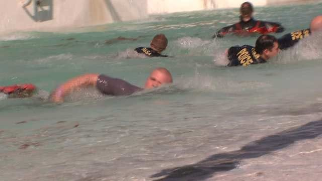 Tulsans Take Plunge To Raise Money For Special Olympics