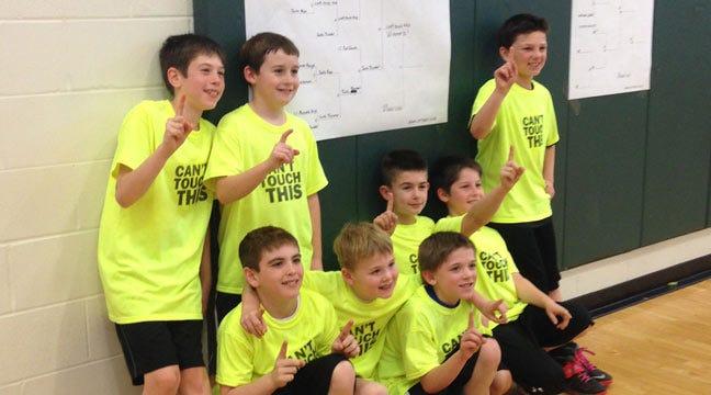 Jenks Optimists, Police Hold Dodgeball Fundraiser For Kids