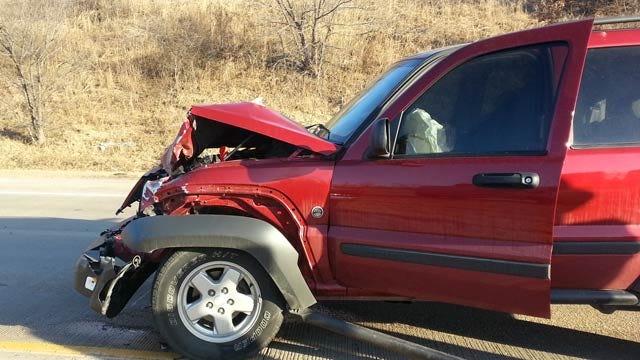 Crash On I-44 Backs Up Traffic East Of Catoosa