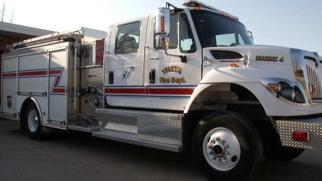 Vinita's Small Fire Department Receiving Big Time Money
