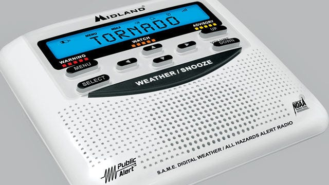 Get A Weather Radio, Help Food For Kids