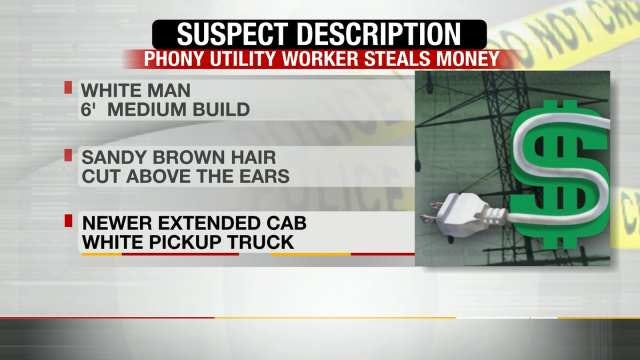 Muskogee Police Search For Man Posing As Utility Employee