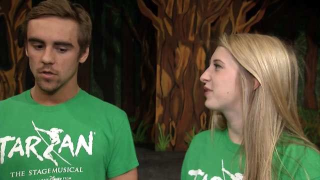 Tarzan The Musical Comes To Jenks High School With Disney Permission