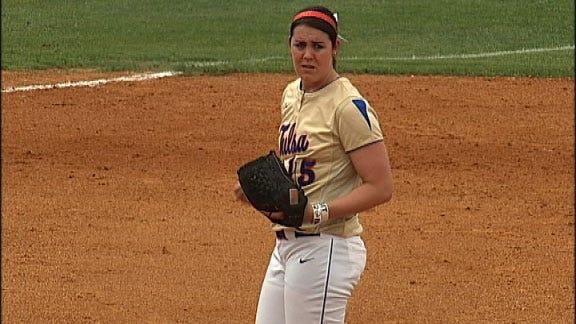 Tulsa Ace Leads Golden Hurricane Softball Team